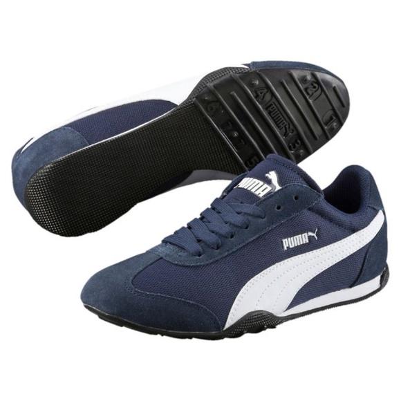 Puma 76 Low Cut Runner Fun Mesh Sneakers Peacoat. M 5ae93caa46aa7c2d2fe8047b c74ccc5ac